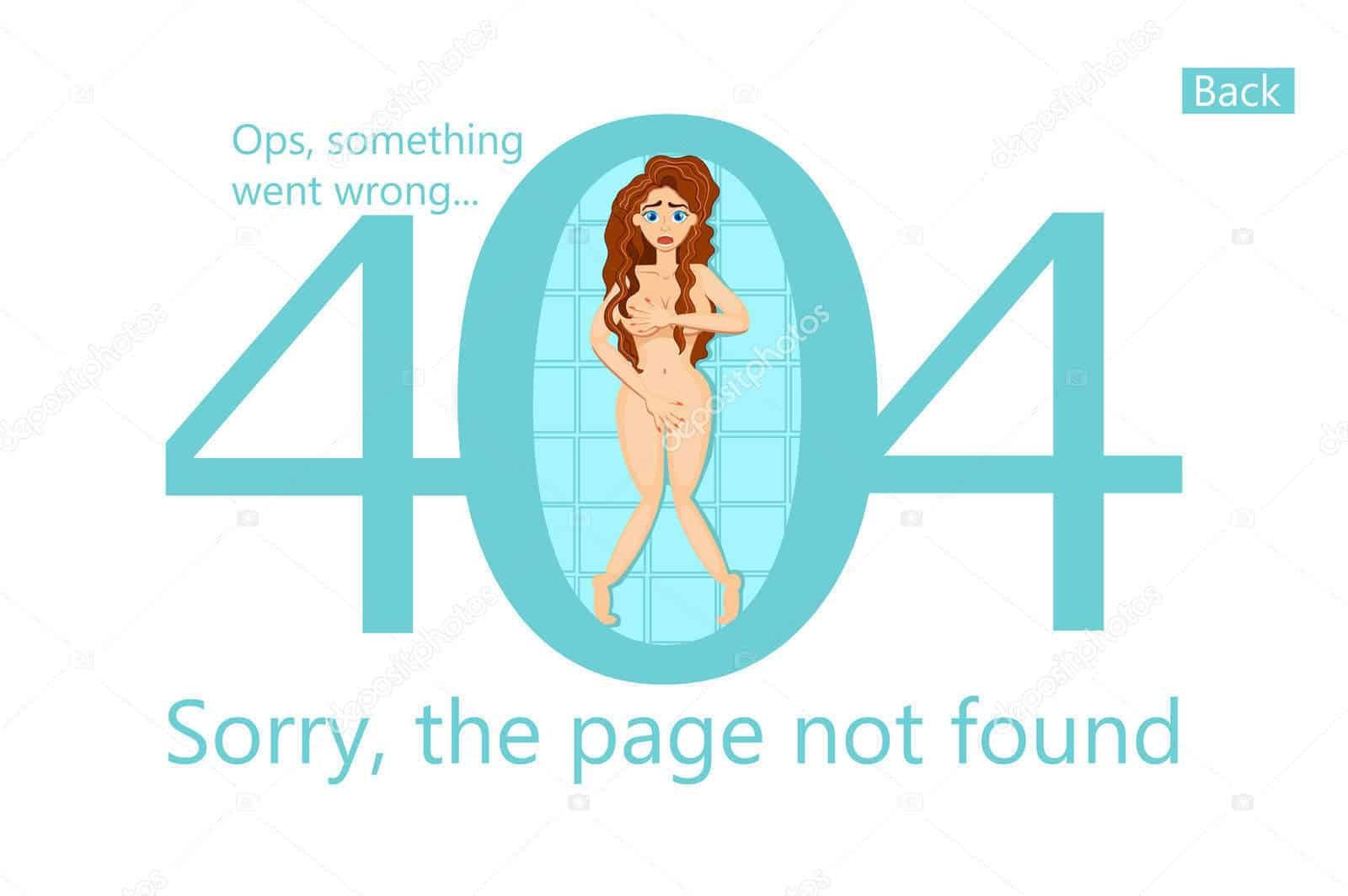 Sexy 404 Pages